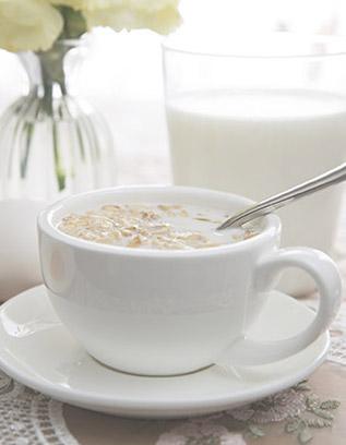 羊奶+麦片